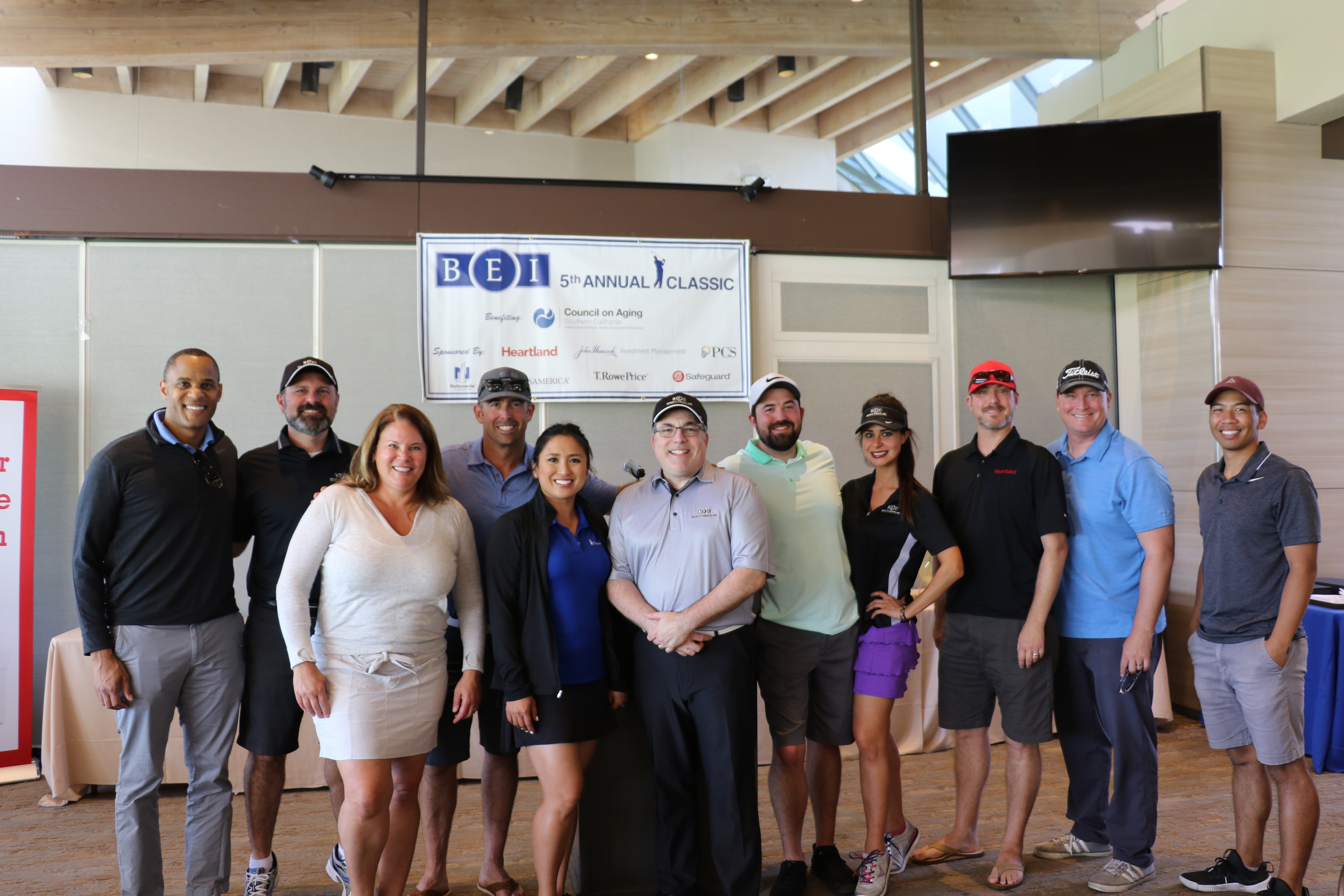 Benefit Equity, Inc. 5th Annual Golf Classic Raises $5,500 for the Elderly In Southern California
